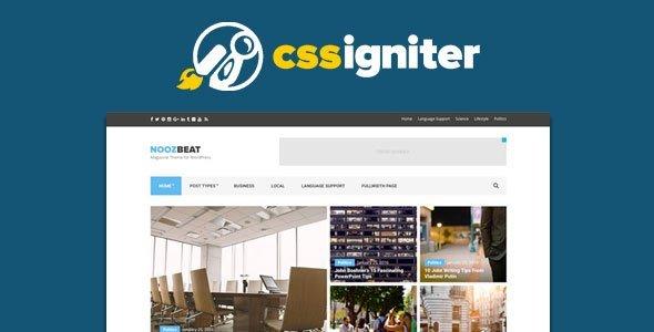 Cssigniter – Public Opinion Wordpress Theme