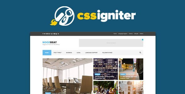 Cssigniter – Flevr Wordpress Theme