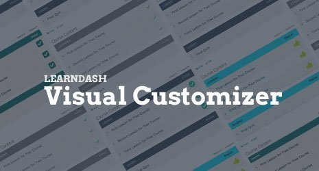 Snaporbital – Learndash Visual Customizer