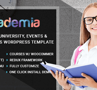 Academia – Education Center Wordpress Theme