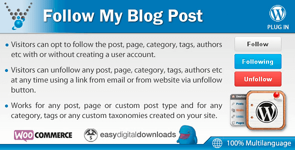 Follow My Blog Post
