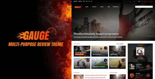 Gauge – Multi-Purpose Review Theme