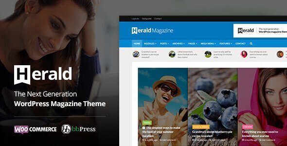 Herald – News Portal & Magazine Wordpress Theme