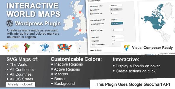 Interactive World Maps — The Responsive Interactive Maps Plugin