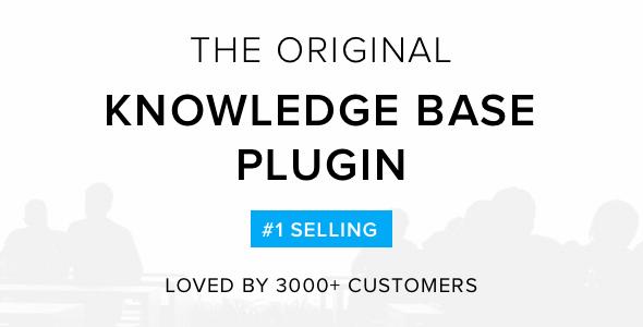 Knowledge Base – Wiki Wordpress Plugin