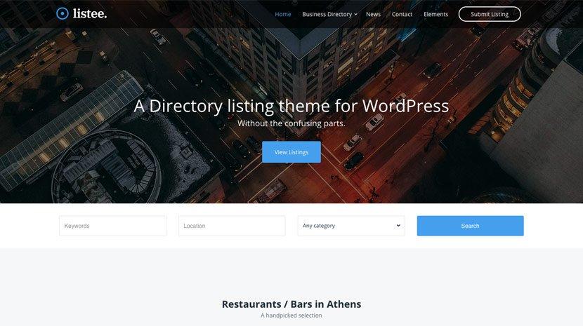 Cssigniter – Listee Wordpress Theme