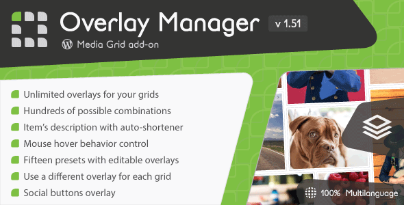 Media Grid - Overlay Manager add-on