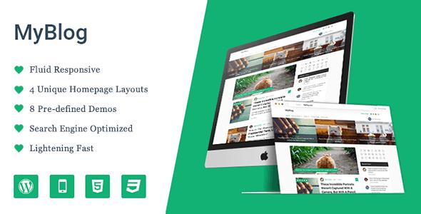 Myblog – Professional Wordpress Theme
