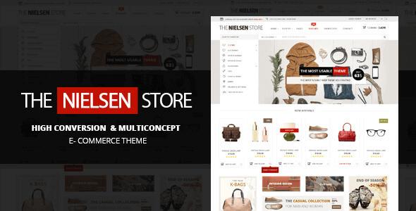 Nielsen – E-Commerce Wordpress Theme