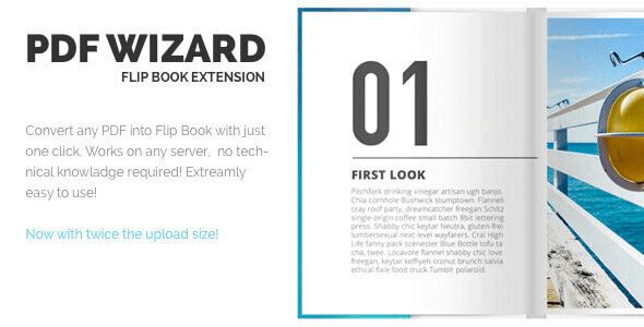 Pdf Wizard – Responsive Flipbook Wp Extension