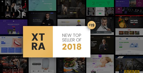 Xtra - Responsive Multipurpose Wordpress Theme