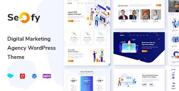 Seofy - Digital Marketing Agency WordPress Theme