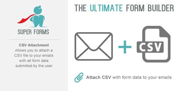 Super Forms CSV Attachment Add-on