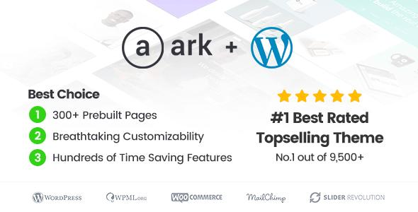 The Ark – Next Generation Wordpress Theme