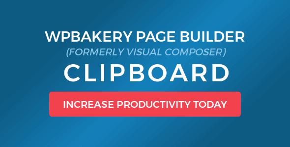 Visual Composer Clipboard