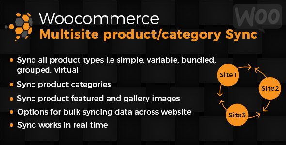 WooCommerce Multisite Product & Category Sync