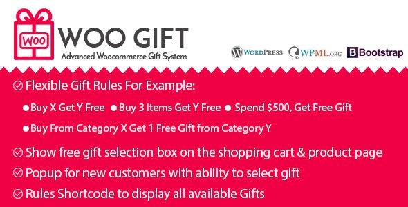 Woo Gift - Advanced Woocommerce Gift Plugin