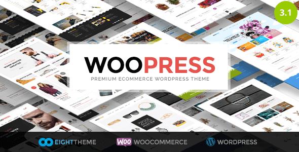Woopress – Responsive Ecommerce Wordpress Theme