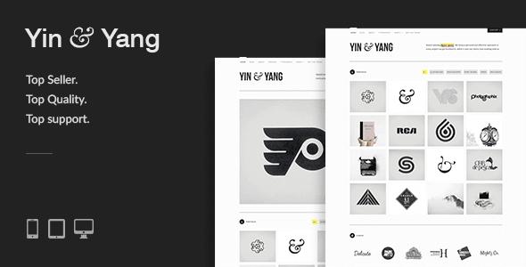 Yin & Yang – Modern Responsive Clean & Creative Wordpress Portfolio Theme Powered By Ajax